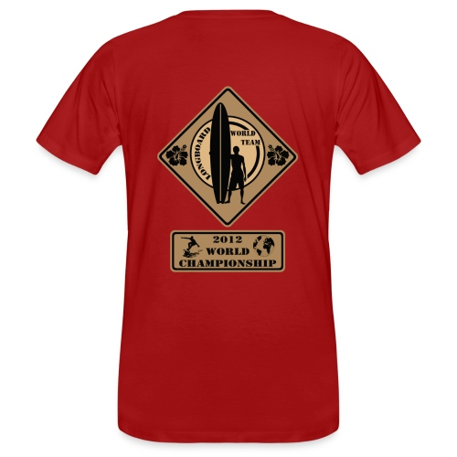 Red competition T-shirt  - Men's Organic T-Shirt