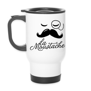 La Moustache - Travel Mug