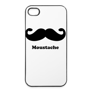 Moustache Iphone Case - iPhone 4/4s Hard Case