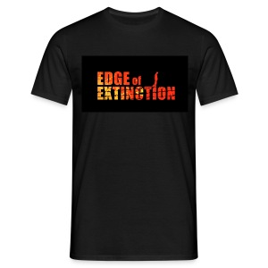 Edge of Extinction Run, Hide, Cheat. - Men's T-Shirt