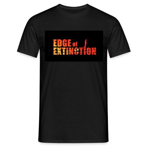 Edge of Extinction Run, Hide, Cheat. - Men's T-Shirt