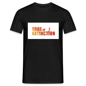 Edge of Extinction: Undead. - Men's T-Shirt