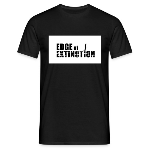 Edge of Extinction: What would you do? - Men's T-Shirt