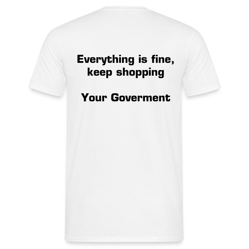 Everything is fine - Männer T-Shirt