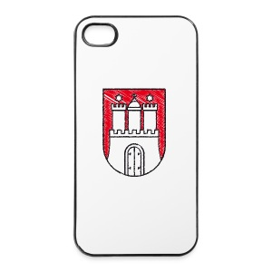 iPhone 4/4s Hard Case - Zeig Dein iPhone und bekenne Dich als Hamburg-Fan!