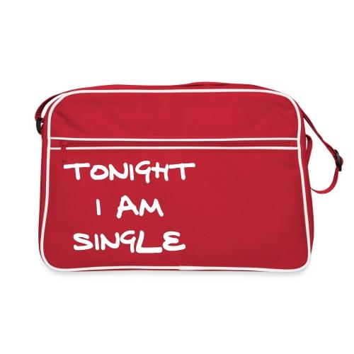 tonight i am single - Retro Bag