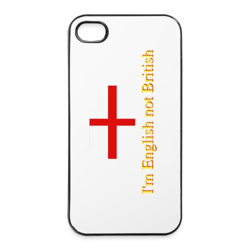 English not British iPhone case - iPhone 4/4s Hard Case