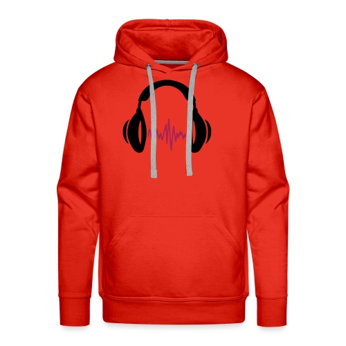 HoofdTelefoon - Mannen Premium hoodie