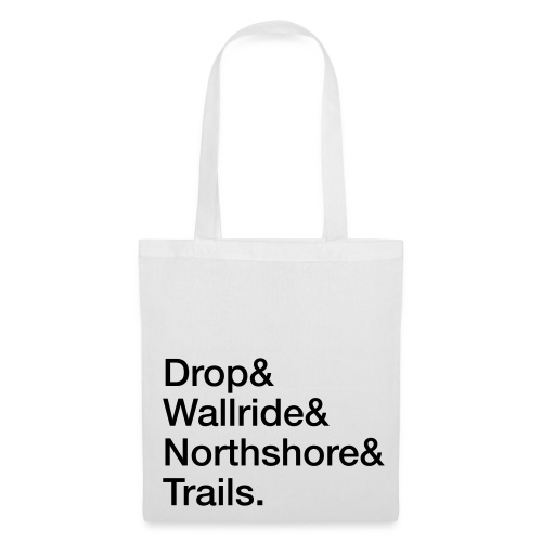 Stofftasche: Drop & Wallride & … - Stoffbeutel