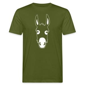 esel t-shirt donkey maultier muli jackass mule - Männer Bio-T-Shirt