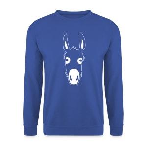 esel t-shirt donkey maultier muli jackass mule - Männer Pullover