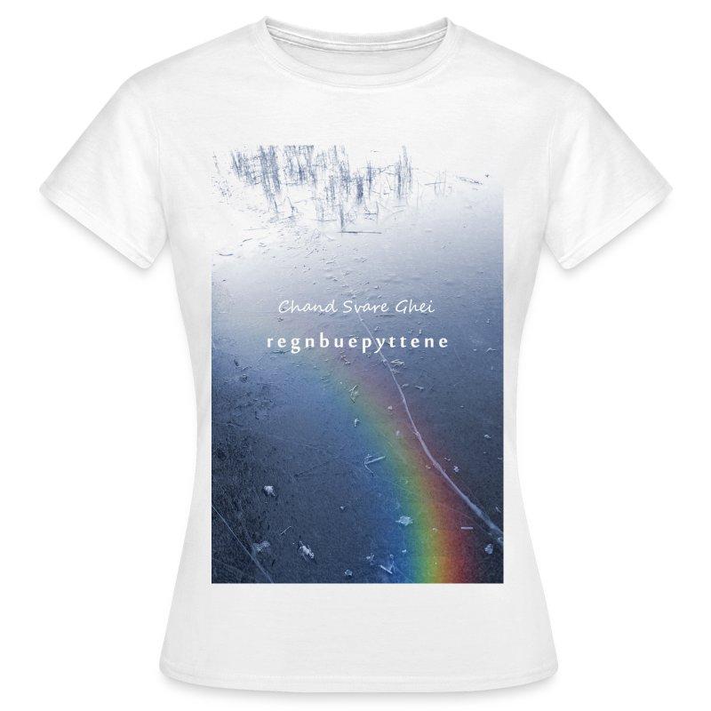 Regnbuepyttene - T-skjorte for kvinner