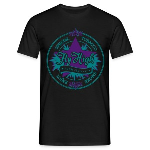 [Old Tobacco] purple haze - Men's T-Shirt