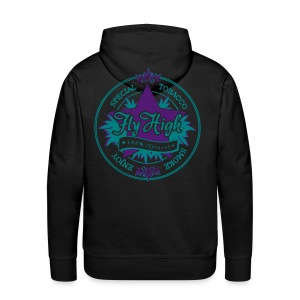 [Old Tobacco] sweat purple - Men's Premium Hoodie