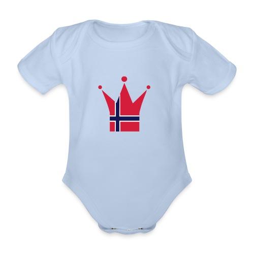 Baby - Økologisk kortermet baby-body