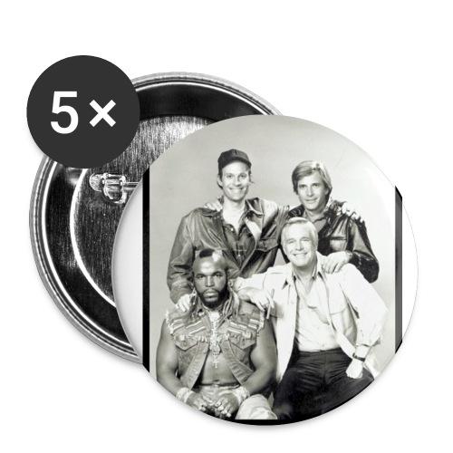 A-Team Buttons - Buttons klein 25 mm