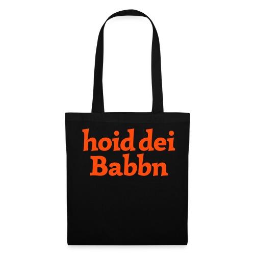 Stofftasche hoid dei Babbn - Stoffbeutel