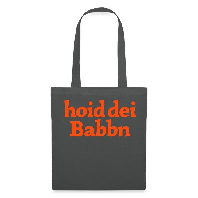 Stofftasche hoid dei Babbn