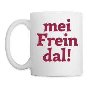 Tasse mei Freindal - Tasse