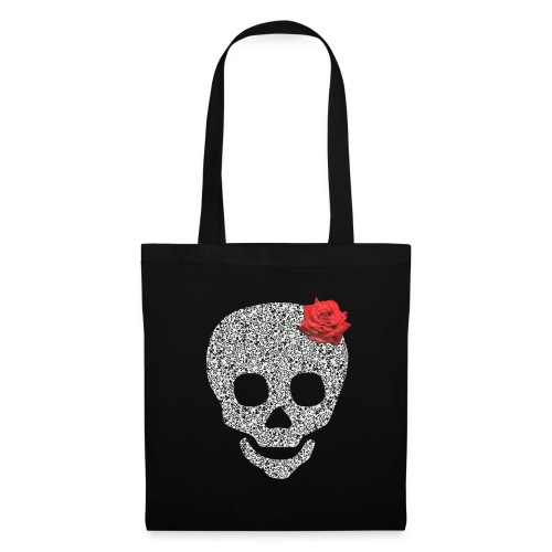 Skull and rose - Tote Bag