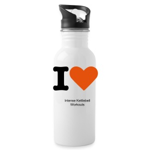 Intense Kettlebell Workouts Gym Bottle - Water Bottle