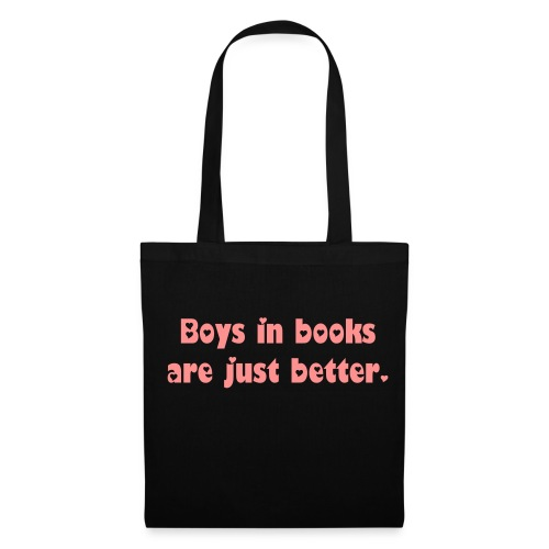 Boys in books - Stoffbeutel