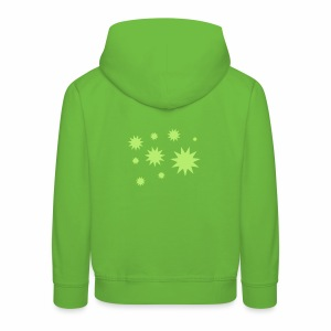 Sterne und Schneeflocken - Kinder Premium Hoodie