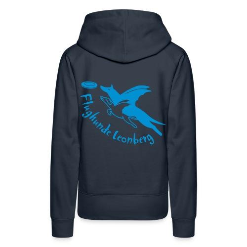 Frauen Kapuzenpulli - hellblau - Frauen Premium Hoodie