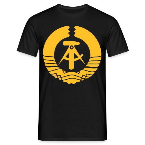 Emblema de la antigua RDA - Camiseta hombre