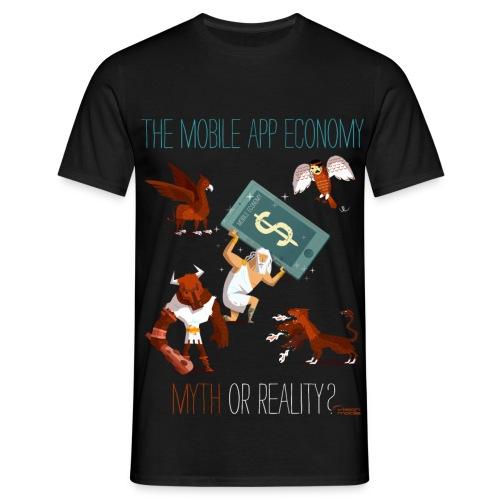 The Mobile App Economy - Men's T-Shirt