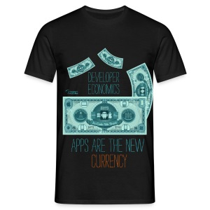 Apps are the New Currency - Men's T-Shirt