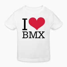 bmx - heart love Shirts