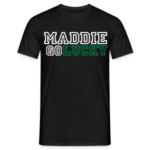 MaddieGoLucky Shirt - (Men's - Black) - Men's T-Shirt