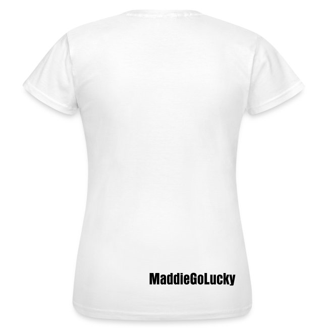 I'm a Lucky One Shirt (Women's - White)