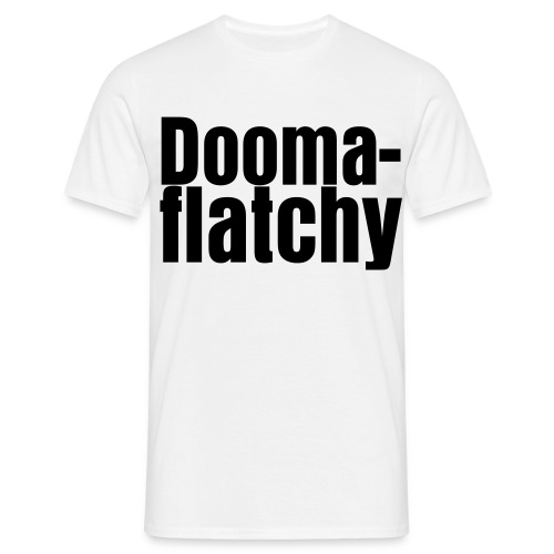 Doomaflatchy Shirt (Men's - White) - Men's T-Shirt