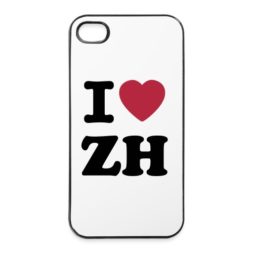 I HEART ZH iPHONE - iPhone 4/4s Hard Case