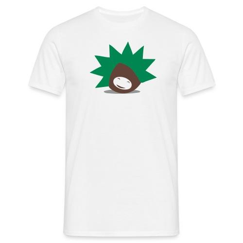 Kastanien Tshirt - Männer T-Shirt