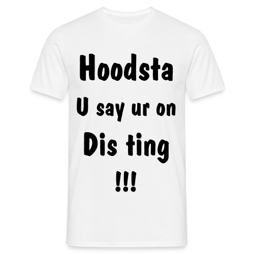 hoodsta - Men's T-Shirt