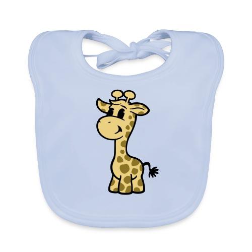 Latz Giraffe Fred - Baby Bio-Lätzchen
