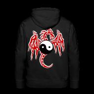Sweat-shirts ~ Sweat-shirt à capuche Premium pour hommes ~ Sweat à capuche homme dragon chinois