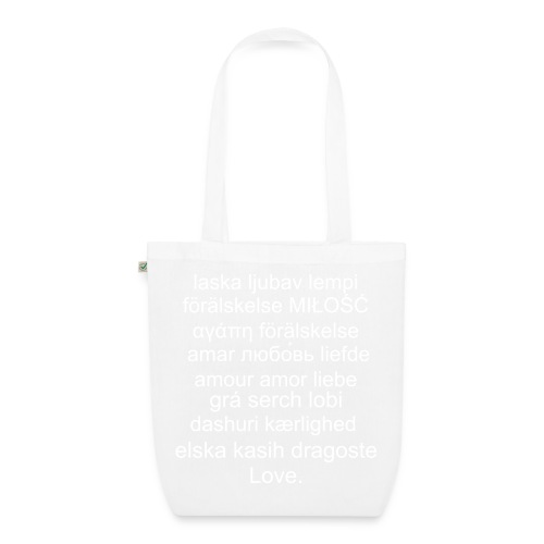 Language of love tote - EarthPositive Tote Bag