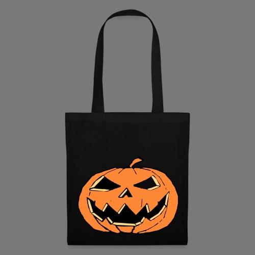 Halloween Pumpkin-Face Tasche - Stoffbeutel