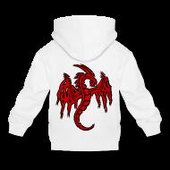 Sweats ~ Pull à capuche Premium Enfant ~ Pull à capuche enfant dragon chinois