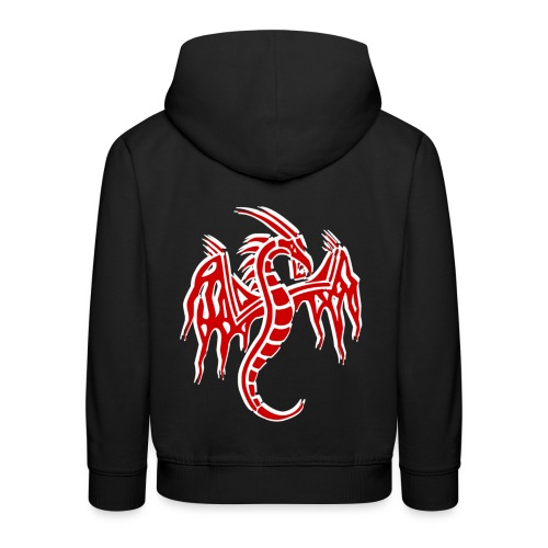 Pull à capuche enfant dragon chinois - Pull à capuche Premium Enfant