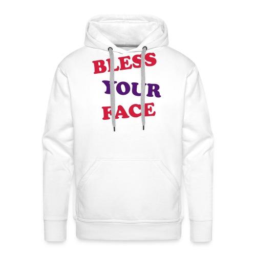 Bless Your Face - Men's Premium Hoodie