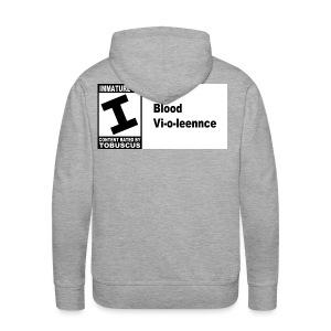 Blood Violence - Men's Premium Hoodie