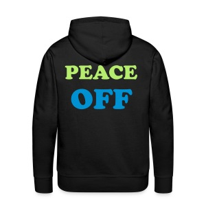 bless your/peace off - Men's Premium Hoodie