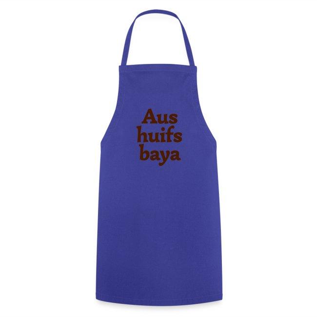 Kochschürze Aushuilfsbaya