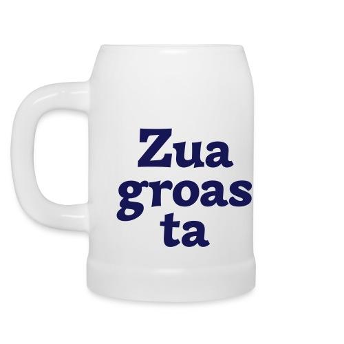 Krug Zuagroasta - Bierkrug
