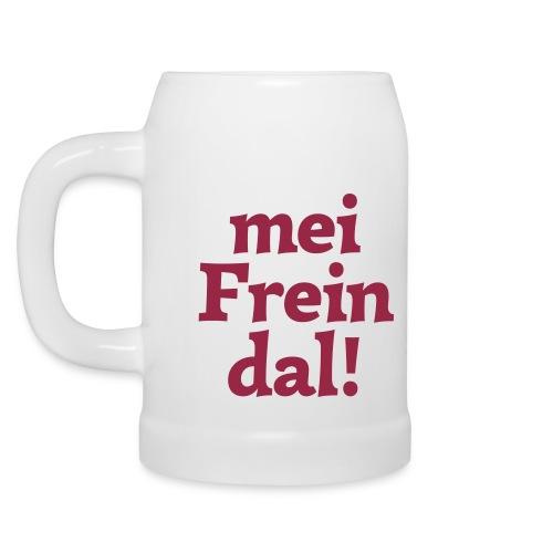 Krug mei Freindal - Bierkrug
